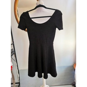 Robe patineuse noire T XS Gone