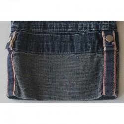 Détail bas Jeans foncé à revers T 29 Teddy Smith