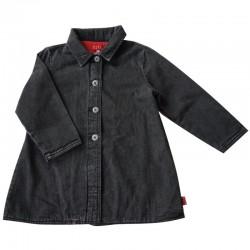 Manteau en jeans noir 6 ans Elle
