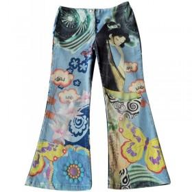 Pantalon velours Multicolore 8 ans United colors of Benetton