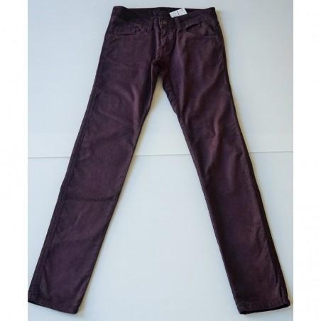 Pantalon en velours prune T32 Bizbee