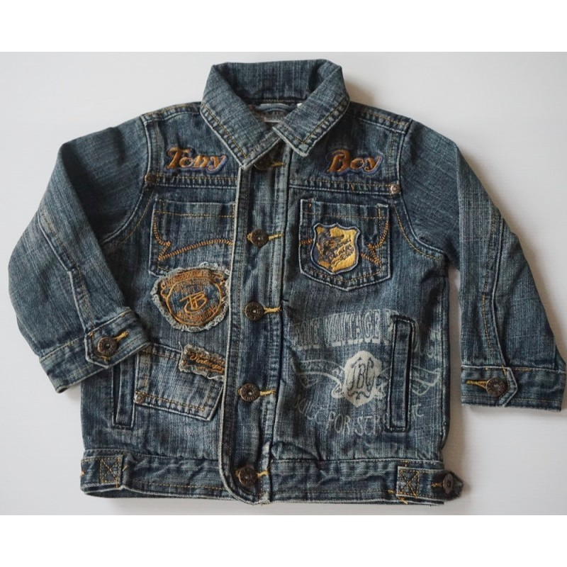 Veste en jeans used 2 ans Tony Boy
