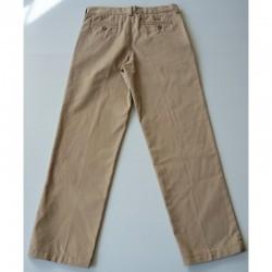 Verso du Pantalon à pinces beige 12 ans Lands'end Kids