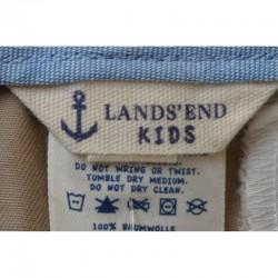 Marque du Pantalon à pinces beige 12 ans Lands'end Kids
