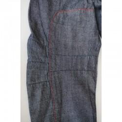 Détail de la manche du Blouson fin en jeans 14 ans DDP