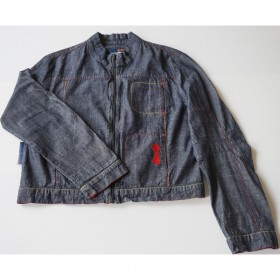 Blouson fin en jeans 14 ans DDP