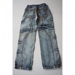 Verso du Jeans original blanchi - 10 ans