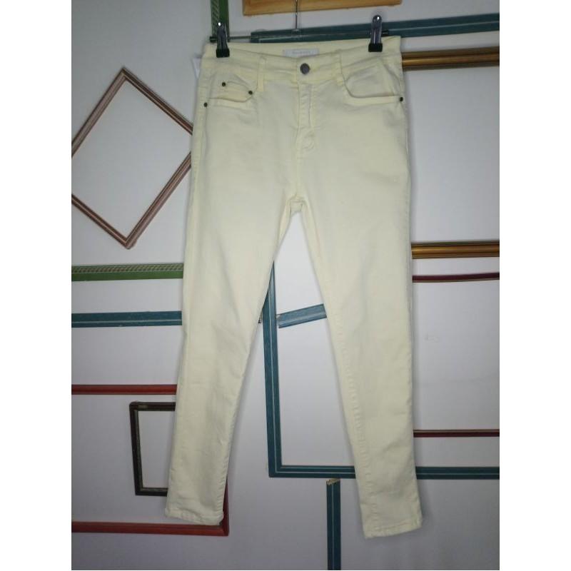 Pantalon jaune pâle T36 Kalisson