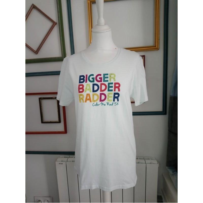 T-shirt blanc Bigger T M Cache Cache