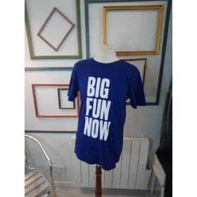 T-shirt bleu roi Big Fun Now T M denali.be