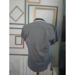 Chemisette blanche en lin sans col 6 ans - Okaïdi