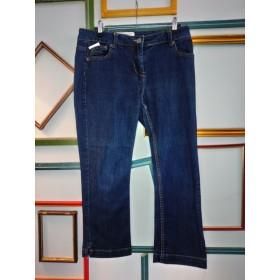 Pantacourt en jeans T 40 Etam