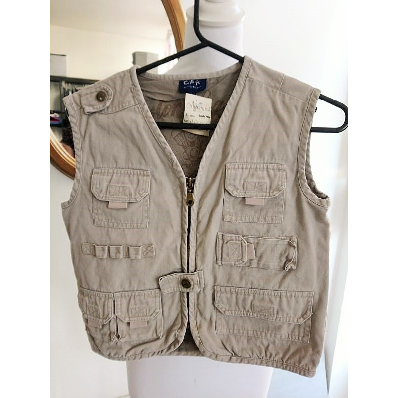 Gilet Aventurier Beige 6 ans Country For Kids